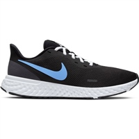 Nike Mens Revolution 5 - Black/Grey/Blue