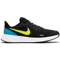 Nike Revolution 5 (GS) - Black/Lemon/Blue
