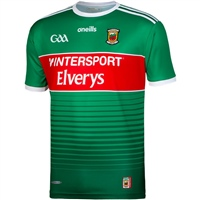 ONeills MAYO GAA HOME JERSEY 2020 - GREEN/RED