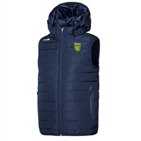 ONeills DONEGAL SOLAR GILET WITH HOOD - MARINE