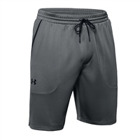 Under Armour MENS MK-1 WARM UP SHORTS - GREY