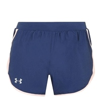 Under Armour WOMENS UA FLY -BY 2.0 SHORTS - NAVY