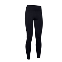 Under Armour WOMENS FAVOURITE BRANDED LEGGINGS - BLACK