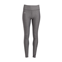 Under Armour WOMENS GRAPHIC SWERVE WORDMARK LEGGINGS - GREY