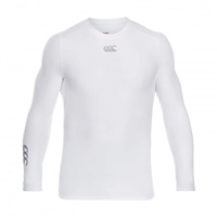 Canterbury THERMOREG LONG SLEEVE TOP - WHITE