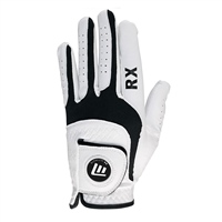 Masters ALL WEATHER GOLF GLOVE - LEFT HAND - WHITE/BLACK