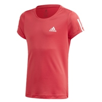Adidas GIRLS EQUIPMENT T-SHIRT - PINK/WHITE