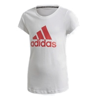 Adidas GIRLS MUST HAVE BOS T-SHIRT - WHITE/PINK