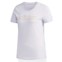 Adidas WOMENS BRANDED TEE - LILAC