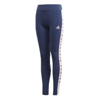 Adidas GIRLS BOLD LEGGINGS - NAVY/WHITE
