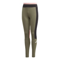 Adidas GIRLS THE PACK LEGGINGS - GREEN/BLACK