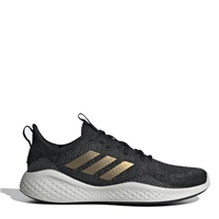 Adidas WOMENS FLUIDFLOW TRAINERS - BLACK/GOLD/GREY