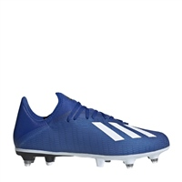 Adidas X19.3 SG FOOTBALL BOOTS - ROYAL/WHITE/BLACK