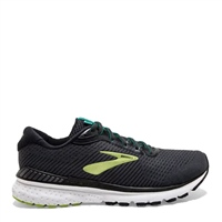 BROOKS MENS ADRENALINE GTS 20 - BLACK/LIME