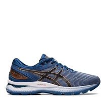 Asics MENS GEL NIMBUS 22 - GREY/BLUE