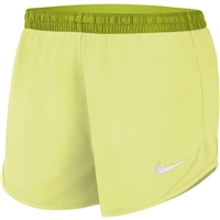 Nike WOMENS TIEMPO LUX 3IN SHORTS - LIMELIGHT