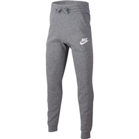 Nike BOYS NSW CLUB FLC JOGGER PANT - GREY/WHITE