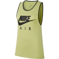 Nike WOMENS AIR RUNNING VEST - LIMELIGHT