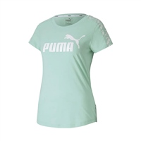 Puma WOMENS AMPLIFIED T-SHIRT - MIST GREEN
