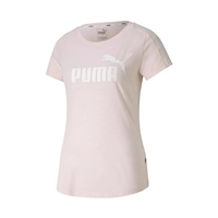 Puma WOMENS AMPLIFIED T-SHIRT - ROSEWATER