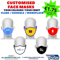 All Sports PERSONALISED FACE MASKS