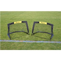 "Precision  ""Fold-a-Goal"" (Set of 2) - 4.5ft x 3.5ft"