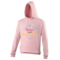 ALL INKD Home Is My Happy Place Hoody - Pink - Kids