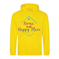 ALL INKD Home Is My Happy Place Hoody - Sunflower - Kids