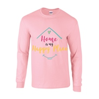 ALL INKD Home Is My Happy Place Sweat - Pink - Kids