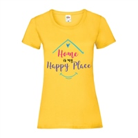 ALL INKD Home Is My Happy Place Tee - Sunflower - Kids