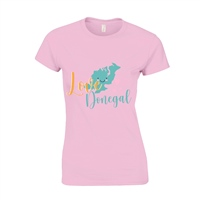 ALL INKD Love Donegal Tee - Pink - Kids