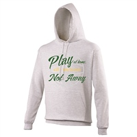 ALL INKD Play At Home, Not Away Hoody - Ash Grey - Kids