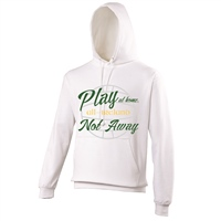 ALL INKD Play At Home, Not Away Hoody - White - Kids