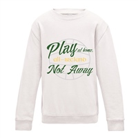 ALL INKD Play At Home, Not Away Sweat - Ash Grey - Kids
