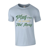 ALL INKD Play At Home, Not Away Tee - Sky Blue - Kids