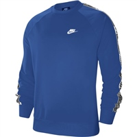 Nike Mens NSW Just Do It Crew Top - Royal