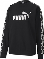 Puma Womens Amplified Crew Sweat - Black