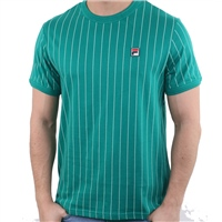 Fila MENS GUILO T-SHIRT - GREEN/WHITE