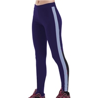 Fila WOMENS DEA SIDE STRIPE LEGGINGS - NAVY