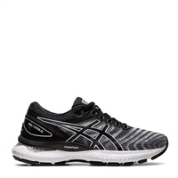 Asics Womens Gel Nimbus 22 - WHITE/BLACK