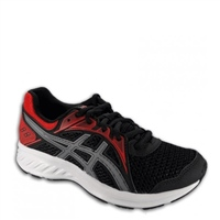 Asics Boys Jolt 2 GS Runners - BLACK/RED