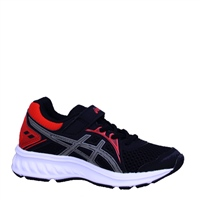 Asics Boys Jolt 2 PS Runners - BLACK/RED