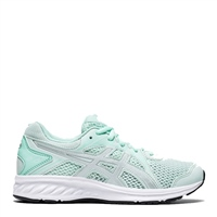 Asics Girls Jolt 2 GS Runners - MINT/SILVER