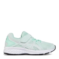 Asics Girls Jolt 2 PS Runners - MINT/SILVER