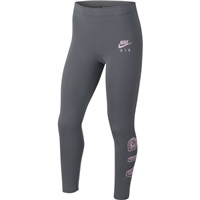 Nike GIRLS NSW AIR FAVORITES LEGGINGS - GREY/PINK