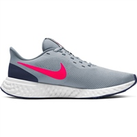 Nike Mens Revolution 5 - GREY/CRIMSON