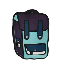 Ridge 53 2D SMALL BACKPACK - AQUA/NAVY/BLUE/WHITE