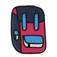 Ridge 53 2D SMALL BACKPACK - PINK/PURPLE/RED/WHITE