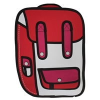 Ridge 53 2D SMALL BACKPACK - RED/PINK/WHITE