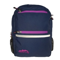 Ridge 53 CAMPUS BACKPACK - BLUE/PINK